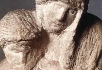 Michelangelo, Pietà Rondanini (1552-53; 1555-64; immagine d'archivio)