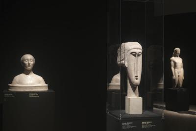 Modigliani scultore al Mart di Rovereto