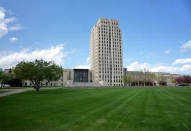 La sede del governatore del North Dakota