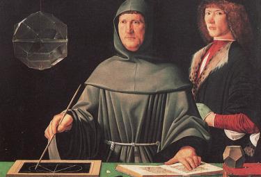 Ritratto di Luca Pacioli, Napoli, Museo di Capodimonte