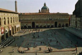 Una veduta di Bologna