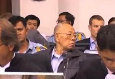 Uno dei Khmer Rossi a processo