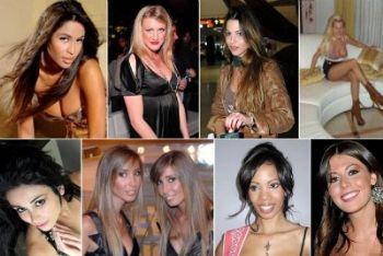 Alcune delle ragazze