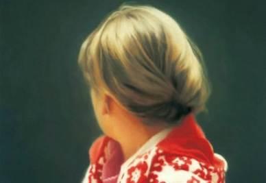 Gerhard Richter, Betty (particolare), 1988 (immagine d'archivio)