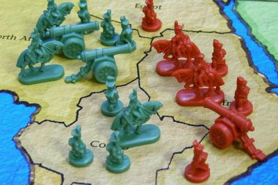 The Game of Risk   (photo boardgamebeast.com)
