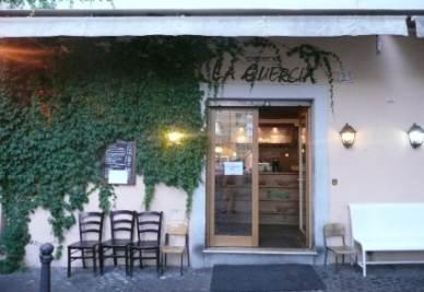 Il ristorante La Quercia