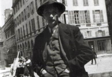Joseph Roth, 1894-1939 (immagine d'archivio)