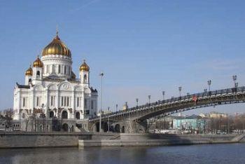 Mosca, la Cattedrale di Cristo Salvatore