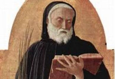 Andrea Mantegna, san Benedetto