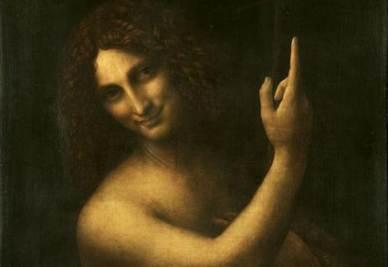 Leonardo Da Vinci, San Giovanni Battista (1513-16)