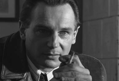 Schindler, played by Liam Neeson
