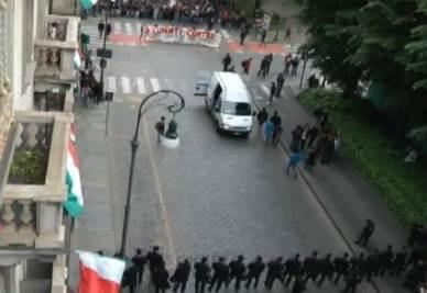 Gli scontri a Torino