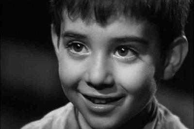 Dal film: Marcellino pane e vino, 1955, di L. Vajda (immagine d'archivio)