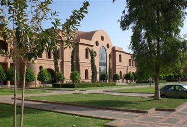 Un edificio scolastico americano
