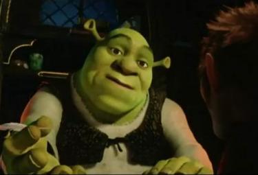 Shrek 4 - Una scena del film