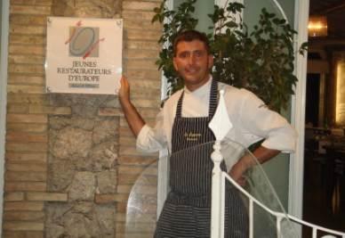 Lo chef Piero D'Agostino