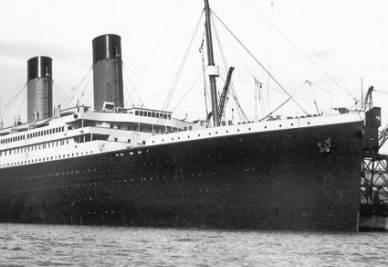 Il transatlantico inglese RMS Titanic (immagine d'archivio)