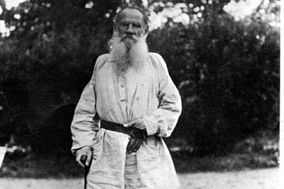 """Lev Tolstoj - dal libro - """"Il Regno di Dio è in Voi"""" Tolstoj_R400"""