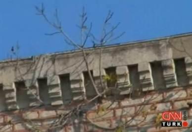 Le mura del palazzo Topkap da dove l'uomo ha sparato