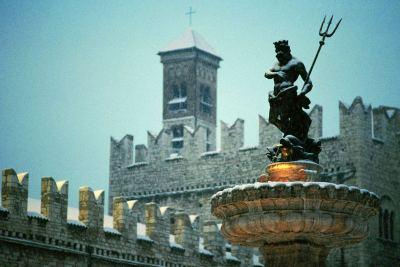 Veduta di Trento (immagine d'archivio)