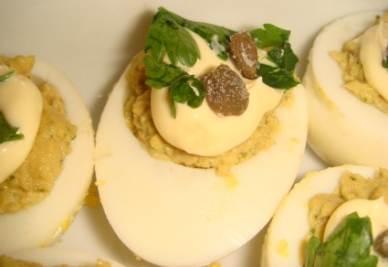 Le uova ripiene