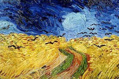 Vincent Van Gogh, Campo di grano (1890)