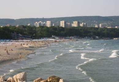 La spiaggia di Varna