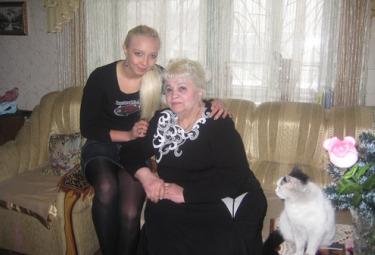 Julia Vorobjova con la figlia (MK)