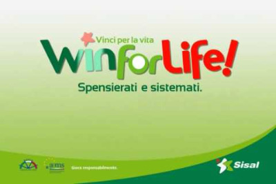 (Fonte: Sisal - Win for Life)