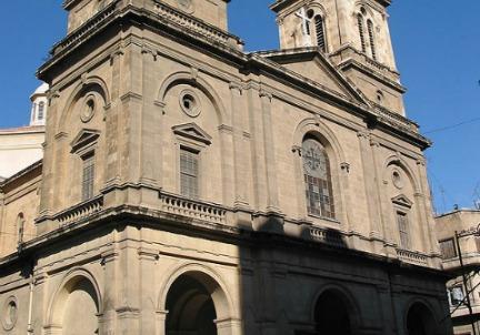 La chiesa dedicata a San Francesco d'Assisi ad Aleppo, in Siria