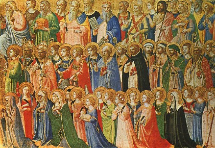 All the Saints by Fra Angelico