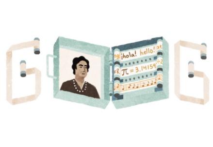 Angela Ruiz Robles, doodle di Google