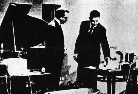 John Cage con Mike Bongiorno