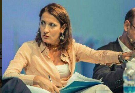 Carla Ruocco, deputata M5S, tra i relatori dell'incontro di Roma (foto da Twitter)