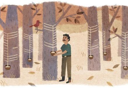 Il doodle su Chico Mendes