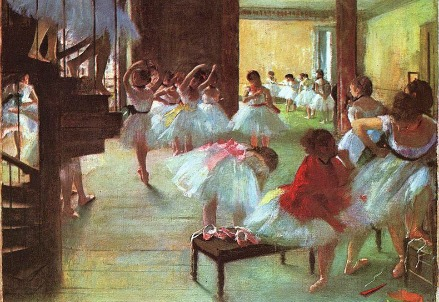 The Dance School (1879) by Degas