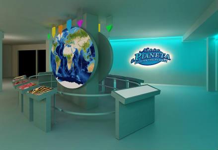 Una sala della mostra FabFood
