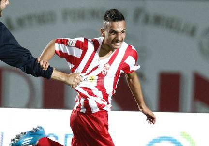Francesco Orlando, giocatore della Maceratese