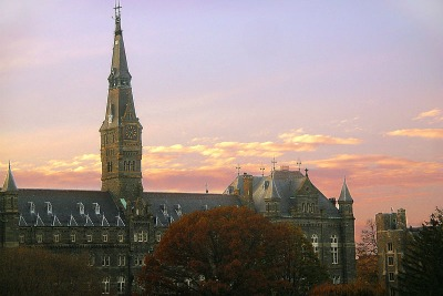 Georgetown's Healy Hall