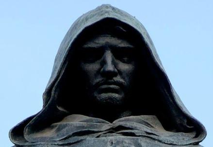 La statua di Giordano Bruno