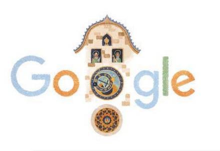 L'orologio astronomico di Praga, il doodle di Google