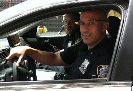 Google Glass NYPD