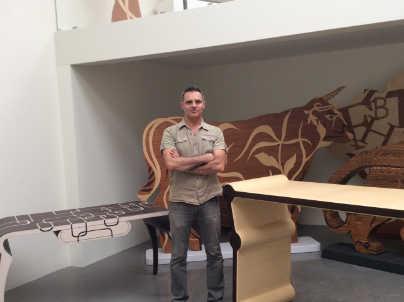 Legno e design ivan paradisi la passione dell 39 incontro for Colonne esterne di stile dell artigiano