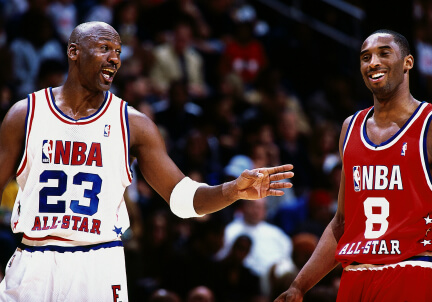 Jordan e Bryant (infophoto)