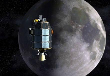 La sonda lunare LADEE