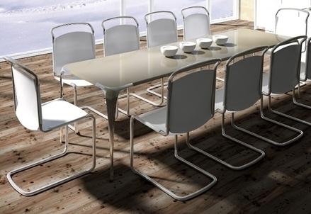 Uno dei tavoli di Mast Elements