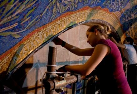 Mosaics in Gethsemane
