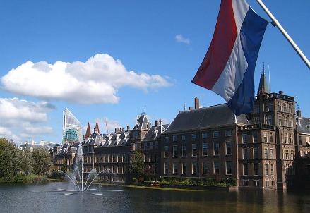 Il Binnenhof a L'Aia, sede del parlamento olandese (foto di Markus Bernet)