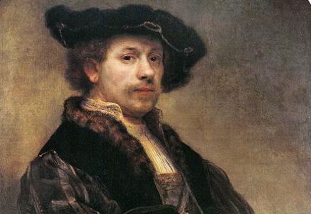 Rembrandt, autoritratto esposto alla National Gallery di Londra
