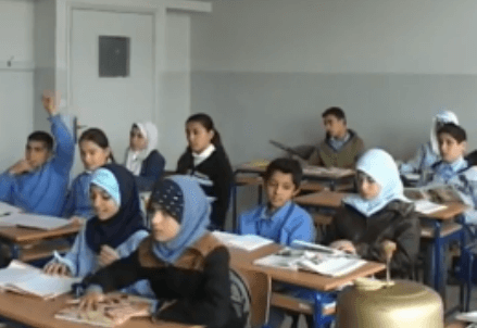 Syrian children classroom (Avsi)